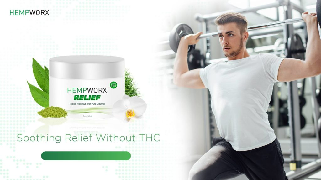Hempworx Relief Pain Rub
