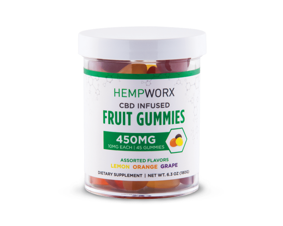 Hempworx CBD infused gummies