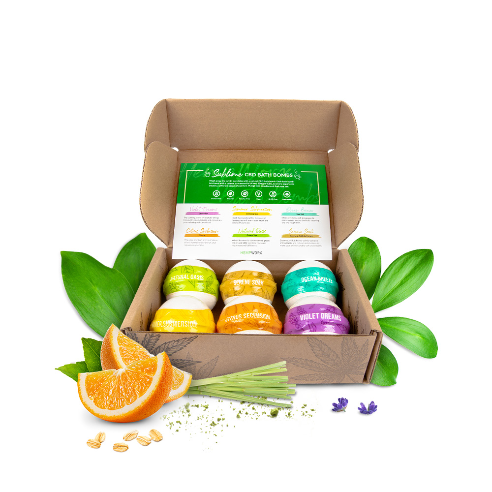 Hempworx cbd bath bombs reviews