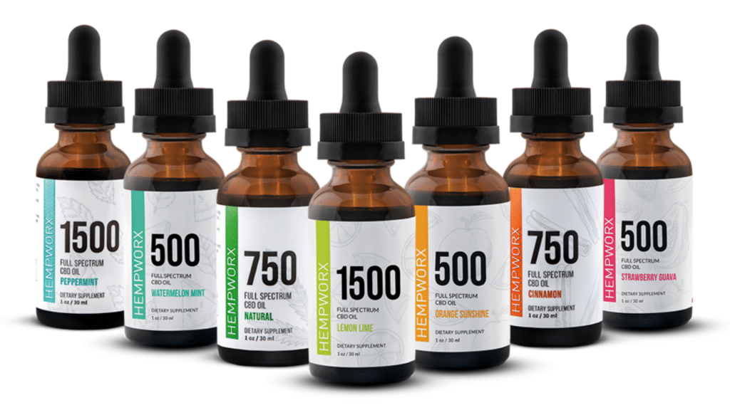 Hempworx full spectrum cbd oils