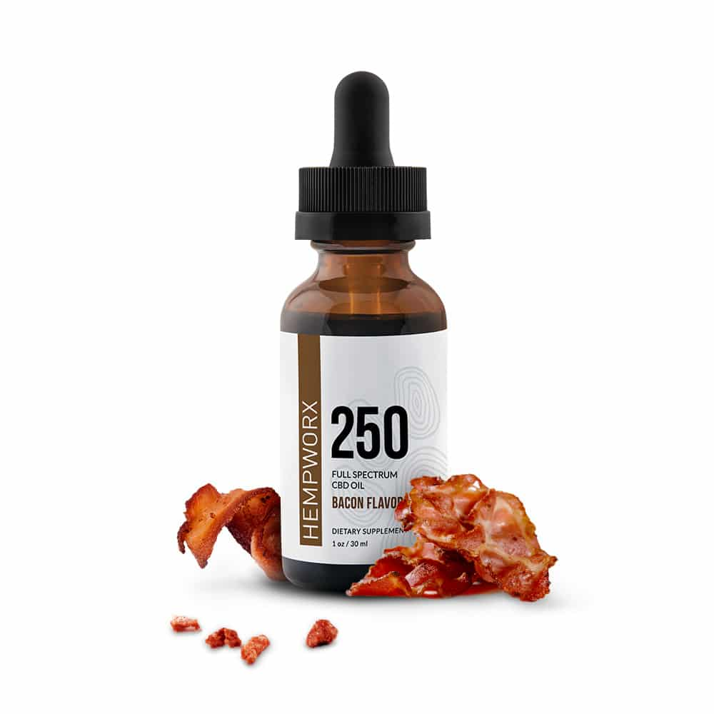 hempworx cbd oil for dogs bacon flavored